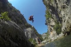 Croatia-canyoning
