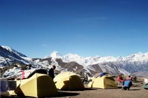 Annapurna Circuit Chulu West, Nepal