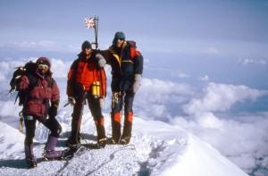 Mount Mckinley summit, Alaska - 1996