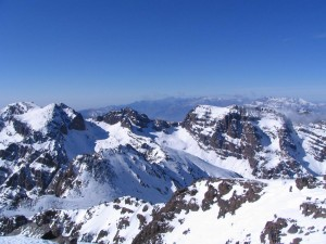 From the summit of Toubkal