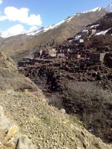 Berber village above Imlil